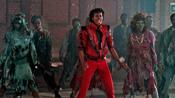 Thriller Michaela Jacksona teledysk