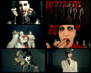 Teledyski marilyna Mansona - M-obscene
